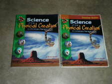 Abeka 9th Science Of The Physical Creation 2nd Ed Student Text And Teacher Guide