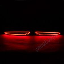 LED Rear Bumper Warning Light COB Car Brake Running Lamp For Volkswagen Golf 6