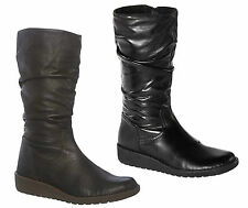 Hush Puppies Patternless Zip Boots for Women