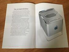 Brochure Apple PowerMac G4 Cube