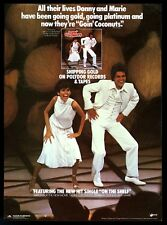 1978 Donnie and Marie Osmond photo Goin Coconuts music trade print ad