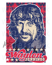 Waylon Jennings signed photo 8X10 poster picture autograph RP