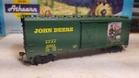 HO scale Athearn John Deere 40' Boxcar,  DERX #20922, RTR series metal wheels
