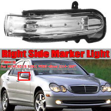 Right LED Mirror Indicator Light Lamp For Mercedes-Benz C Class W203 4DR 2004-07