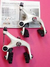 Shimano A450 - White  ( 39 - 49 mm )  Side - Pull Brake Calipers - NOS