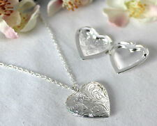 Liebe & Herzen Modeschmuck-Halsketten mit Strass-Perlen