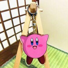 Kirby anime Acrylic Pendant Keyring key chain ornament new