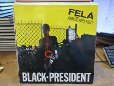 Felà anikulapo kuti - Black-président - arista n° 203554 -