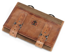 ICON 1000 NAVIGATOR PORTFOLIO OILED NISSAN BROWN LEATHER AND OLIVE CANVAS SALE!