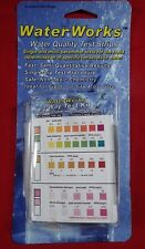 Water Works - 9 Way Water Quality Test Strips - Field, Site, Lab: Grainger 3VFA4