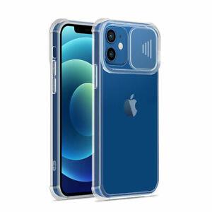 Clear PC TPU Slide Camera Phone Case for iPhone 13 PRO MAX 12 11 XR 7 8 SE 2020