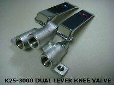 DUAL KNEE PEDAL VALVE FOR USE WITH FAUCETS (KL25-3000)
