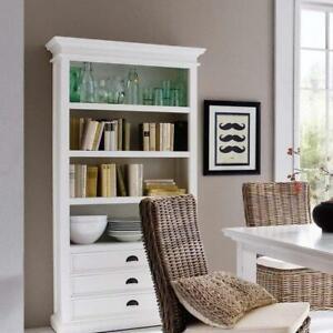 Halifax Bookcase - White