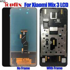 Écran tactile LCD TFT de remplacement, noir, 6.1 pouces, pour Xiaomi Mi Mix 3