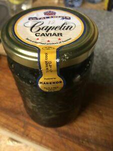 Royal Sweden LARGE JAR, Caviar CAPELIN ROE, 12 oz !! US SELERR !!