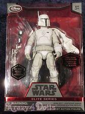 Disney Star Wars Boba Fett White Prototype Elite Series Die Cast Action Figure