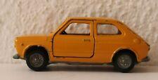 Modellauto  Mercury 1:43 - Fiat 127 - in gelb - guter bespielter Zustand - 70er
