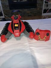 Tyco Hot Wheels RC Red Terrain Twister With Remote and Battery Not Tested