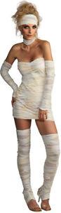 Ladies Sexy Mummy Costume Halloween Fancy Dress Women's Outfit