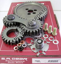 Engine Timing Set S.A. GEAR 78400 SB Chevy Gear Drive Kit Noisy