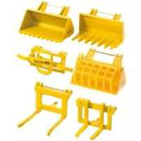 1:32 Siku Accessories For Front Loader Tractor - 132 Set