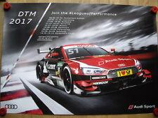 AUDI RS 5 DTM Nico Müller Audi Sport Team Abt racing viaggi auto poster