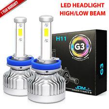 JDM ASTAR G3 8000LM H11LL/H11 LED Car Headlight Low Beam Bulbs White /Fog Light