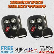 2 for 2001 2002 2003 2004 2005 Chevrolet Malibu Keyless Entry Remote Fob Car Key