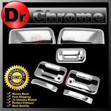 09-14 Ford F150 Chrome HALF Mirror+2 Door Handle+keypad+PSG KH+Tailgate Cover