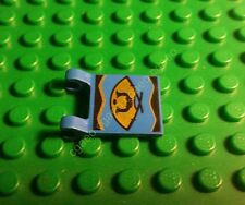 1 x Lego 2335px2 Flag 2 x 2 Square with Golden Fan Pattern