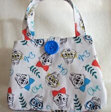 "Chip and Dale Chipmunks Little Girls handbag,with Button to close,7""X 5""x 2"""