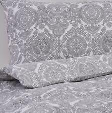 Ikea skorpil King Size Edredón, 240 X 220, gris y blanco, 4 fundas de almohada, BNWT