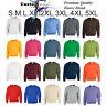 Heavy Blend Blank Plain Basic Sweat Sweater Jumper Sweatshirt Fleece S - 5XL