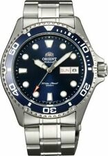 Orient AA02 41.5mm Blue Dial Stainless Steel Case Men Watchwatch (FAA02005D9)