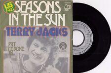 "TERRY JACKS SEASONS IN THE SUN 1974 RECORD YUGOSLAVIA 7"" PS SINGLE"