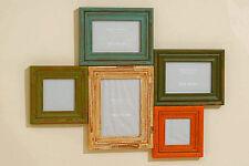 Bilderrahmen, Fotorahmen, Family aus Holz, Länge 57 cm