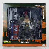 Kaiyodo Revoltech Teenage Mutant Ninja Turtles TMNT Raphael Action Figures Toy