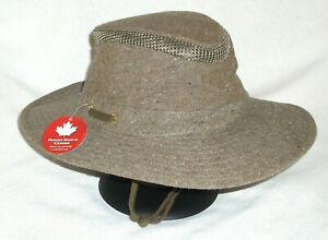 TILLEY AIRFLO MASH-UP HAT TMH55 BROWN MIX UPF50+ 7-3/8 FISHING HIKING TRAVEL