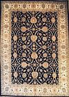 Hand-knotted Rug (Carpet) 8'10X12'3, Agra mint condition