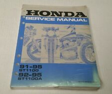 OEM Honda Service Repair Manual 91-95 ST1100 & 92-95 ST1100A Book New Sealed