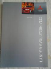 Mitsubishi Lancer Evolution VIII brochure c2005 German text