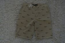 """URBAN OUTFITTERS BDG Reading Glasses Print Shorts 28 NWT$75 9"""" Inseam-Frayed Hem"""