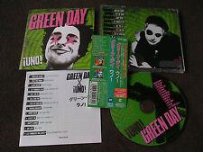 GREEN DAY / uno / JAPAN LTD  CD OBI