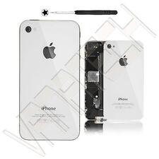 BACK COVER PER IPHONE 4 4G BIANCO SCOCCA POSTERIORE RICAMBIO CACCIAVITE GLS 48H