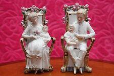 Pair of Vintage German Porcelain Figurines