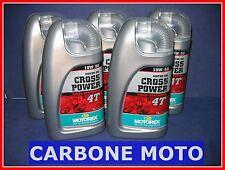 5 LITRI OLIO MOTOREX CROSS POWER 10W50 4T 100% SINTETICO CONSIGLIATO KTM
