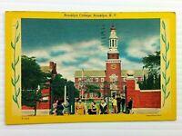 Vintage Postcard 1950 Brooklyn College Brooklyn NY New York