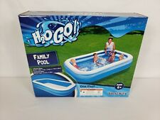 H20 Go! Bestway Family Pool, 8ft 7in x 69in Family Inflatable Pool In Hand - New