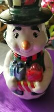 Snowman Hand Soap Dispencer New