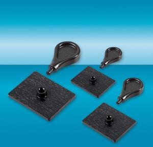 DIY-Stempelset / Stempelgriffe, 15 Stück, 3 Größen / Gesamtfläche ca. DIN A5